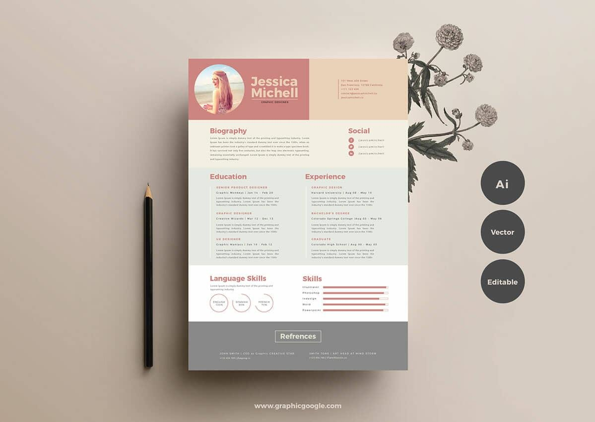 free resume templates for to now cv and european format sample aflac database admin Resume Cv And Resume Templates Free