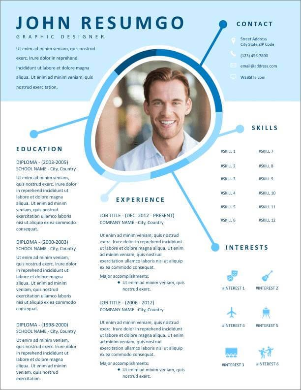 free resume templates for to now professional template new difference between headline Resume Professional Resume Template Free