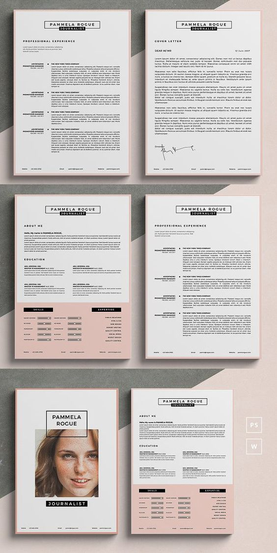free resume templates for word downloadable attractive best template graphic design Resume Free Attractive Resume Templates