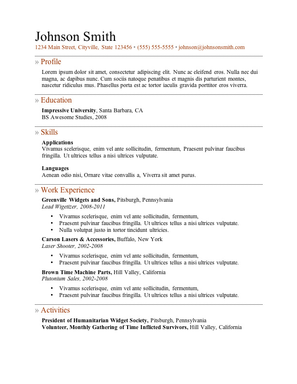 free resume templates good template5 summary format for fargo image consultant examples Resume Good Resume Templates Free