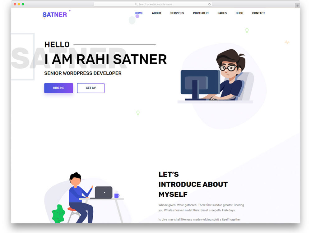 free resume templates to leave lasting impression interactive samples satner 1000x750 for Resume Interactive Resume Samples