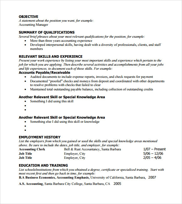 free sample functional resume templates in pdf writing template communication examples Resume Writing A Functional Resume