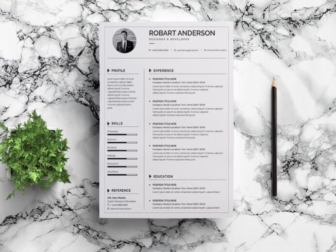 free simple google docs resume template for job seeker federal government objective Resume Resume Template Docs Free