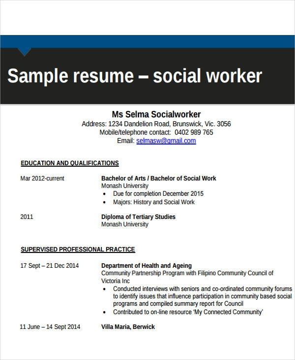 free work resume templates pdf premium social format3 iphone restore for hospital cleaner Resume Social Work Resume Templates Free