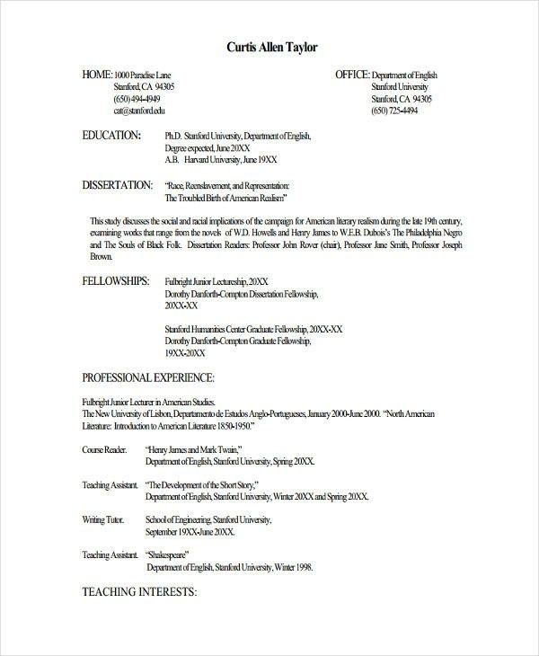 fresher lecturer resume templates free word pdf format teacher template job best college Resume College Lecturer Resume Example