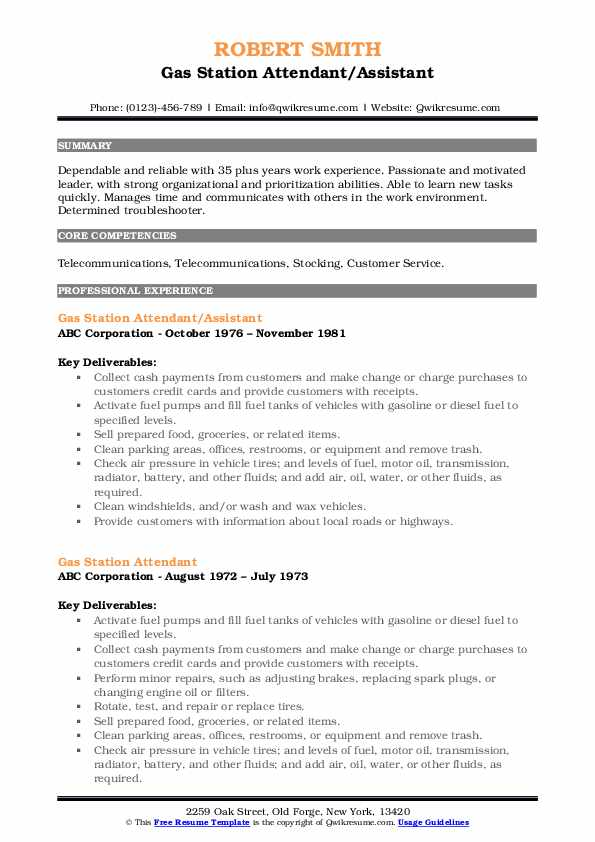 gas station attendant resume samples qwikresume assistant manager pdf objective for Resume Gas Station Assistant Manager Resume