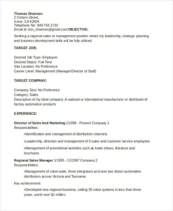 general resumes templates pdf free premium resume for any job position manager1 Resume Resume For Any Job Position