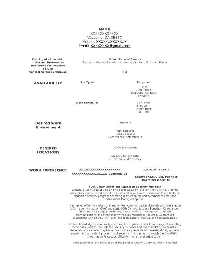 good resume examples for all careers prime security clearance on communications squadron Resume Security Clearance On Resume