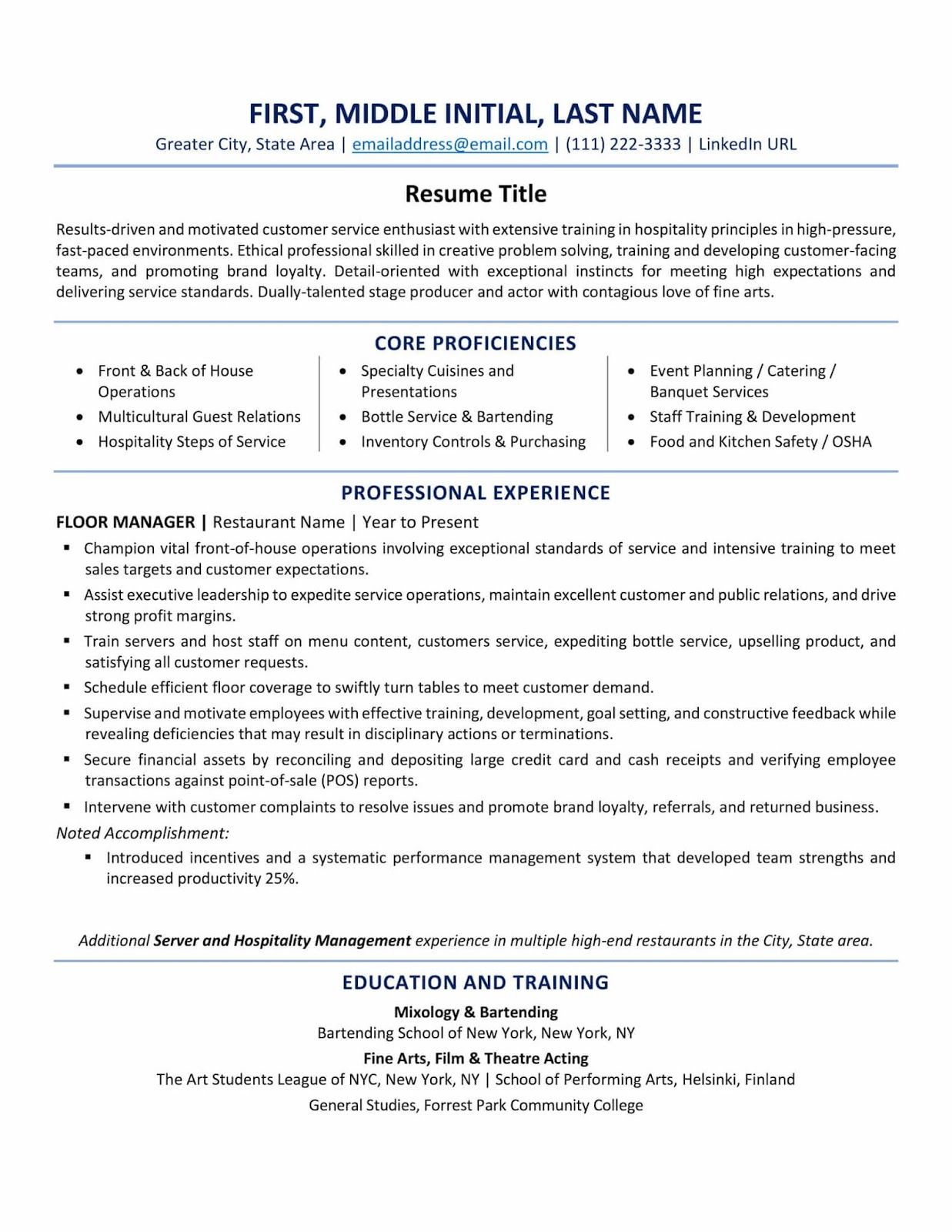 good resume title for customer service is careerbuilder exa best template examples tips Resume Resume Title For Customer Service