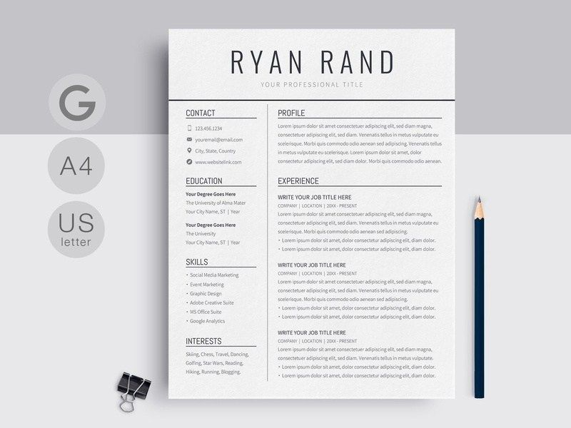 google docs resume template templates on dribbble free downloadable microsoft word help Resume Resume Template Docs Free