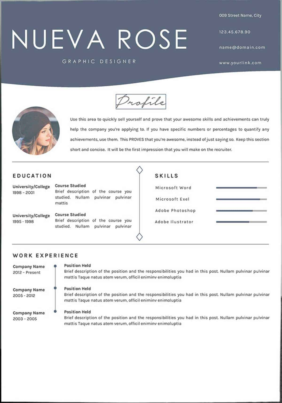 google docs resume templates downloadable pdfs free template nueva rose loan assistant Resume Free Google Doc Resume Template Download