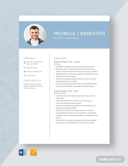graphic designer resume template free word pdf format premium templates professional Resume Professional Graphic Design Resume