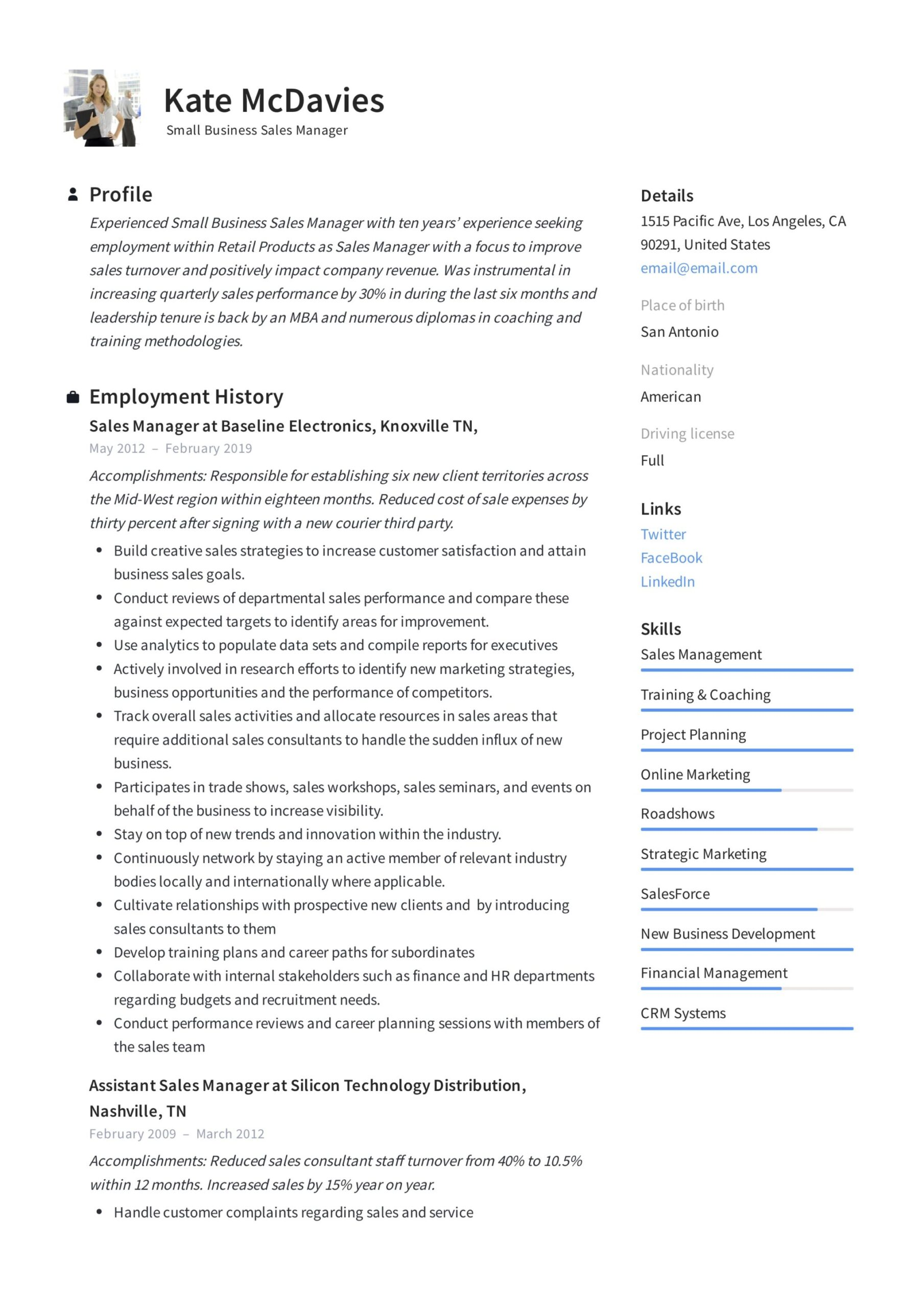 guide small business manager resume x12 sample pdf management experience example analyst Resume Management Experience Resume