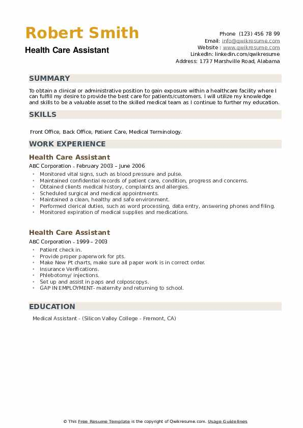 health care assistant resume samples qwikresume for healthcare worker pdf google drive Resume Resume For Healthcare Worker