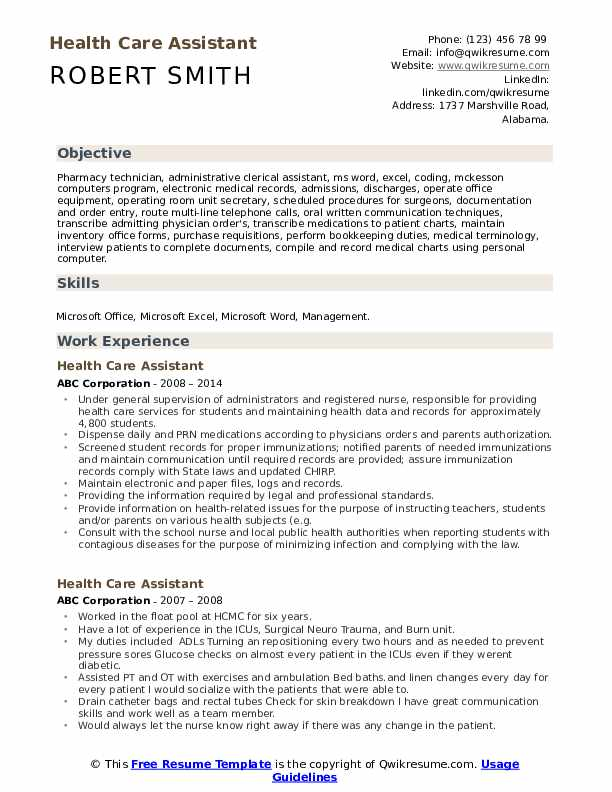 health care assistant resume samples qwikresume for healthcare worker pdf mechanical Resume Resume For Healthcare Worker