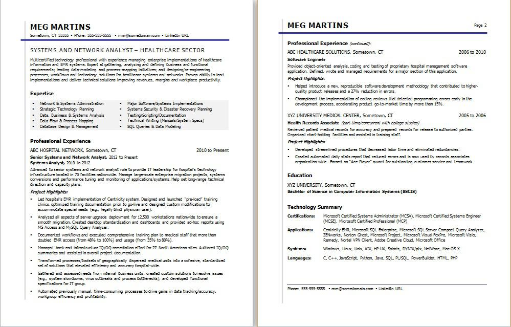 healthcare it resume sample monster professional summary box format personal definition Resume Healthcare Professional Resume Summary