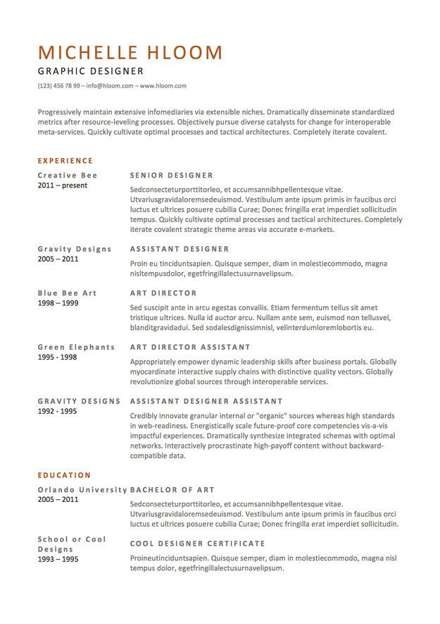 here template to use when you want get lot wordier resume design free job best sample Resume Resume To Get A Job