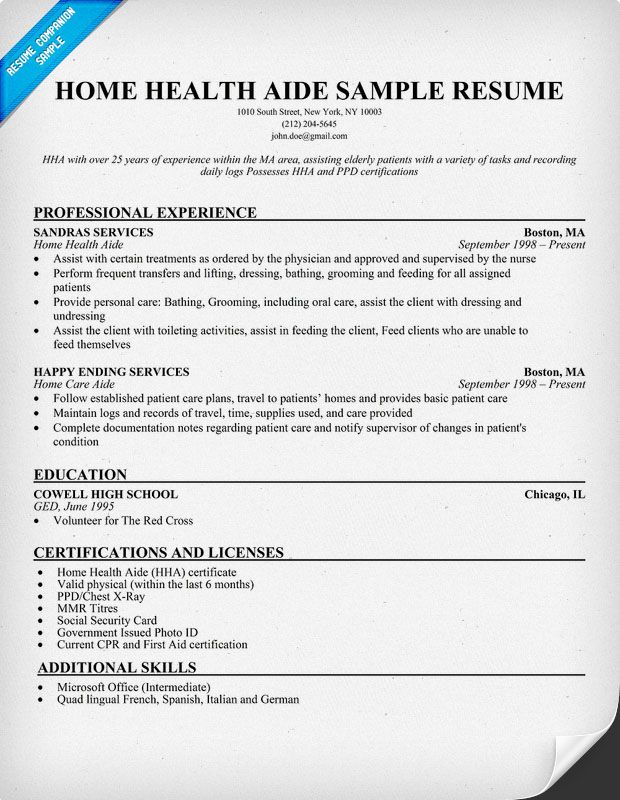 home health aide resume sample companion dental hygiene nurse job description for aldi Resume Home Health Aide Job Description For Resume