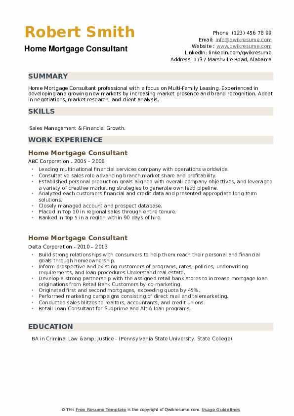 home mortgage consultant resume samples qwikresume pdf entry level environmental engineer Resume Mortgage Consultant Resume