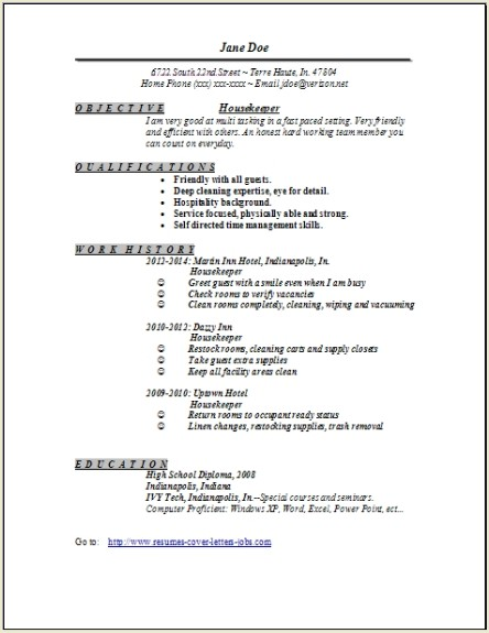 housekeeper resume examples samples free edit with word house cleaning job description Resume House Cleaning Job Description For Resume