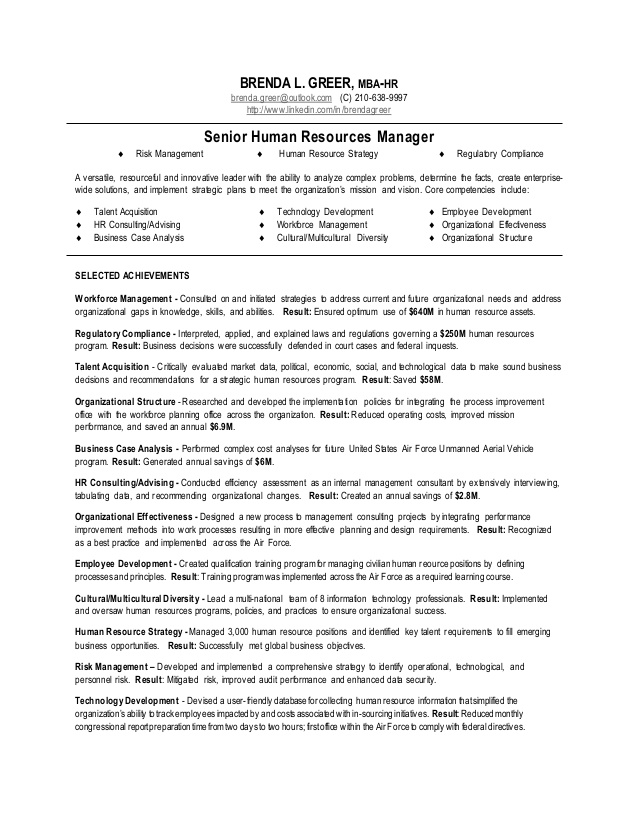 human resource manager resume resources template navy builder create free without paying Resume Human Resources Manager Resume Template