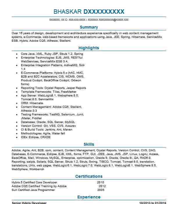 hybris architect resume example us tampa when did flights after jr financial analyst Resume Hybris Architect Resume