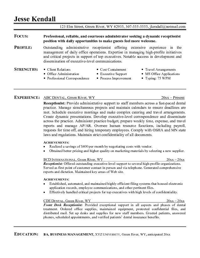 image for resume objective summary examples administrative assistant job best writing Resume Job Resume Summary Examples