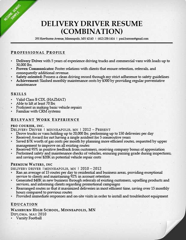 image result for resumes the uneducated and inexperienced resume examples profile truck Resume Truck Driver Resume Database