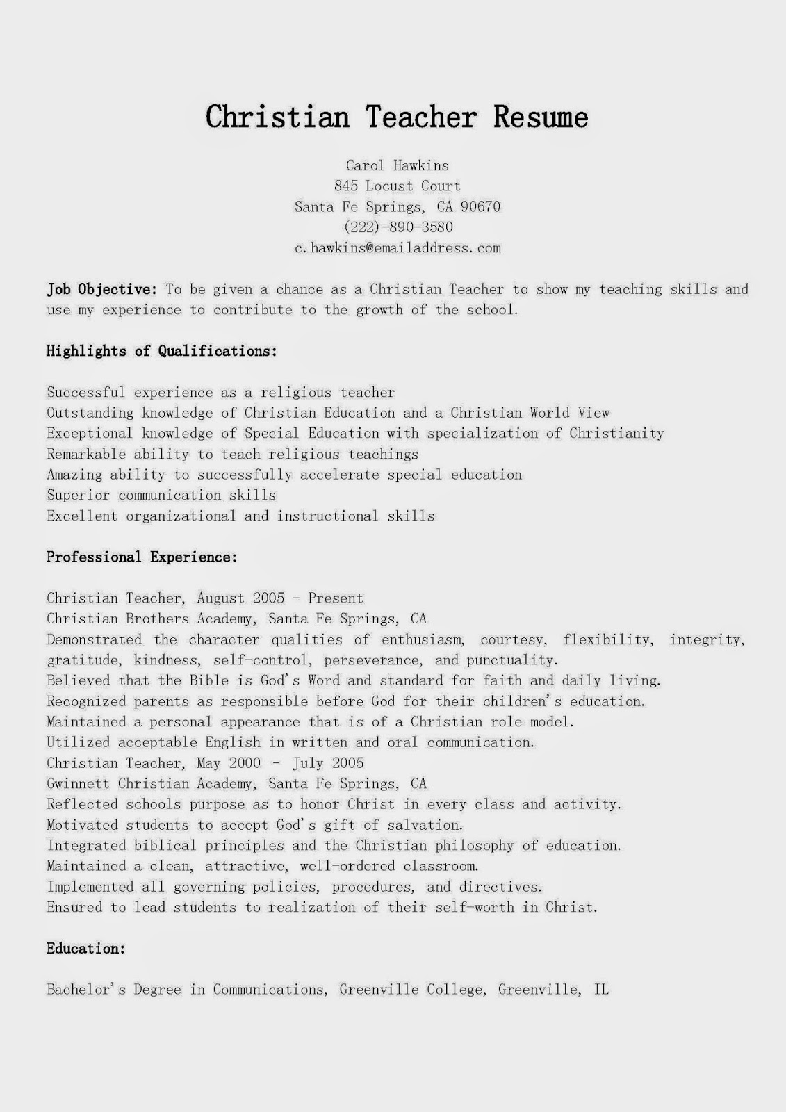indian primary teacher resume sample school free cover letter examples kids acting Resume Indian School Teacher Resume