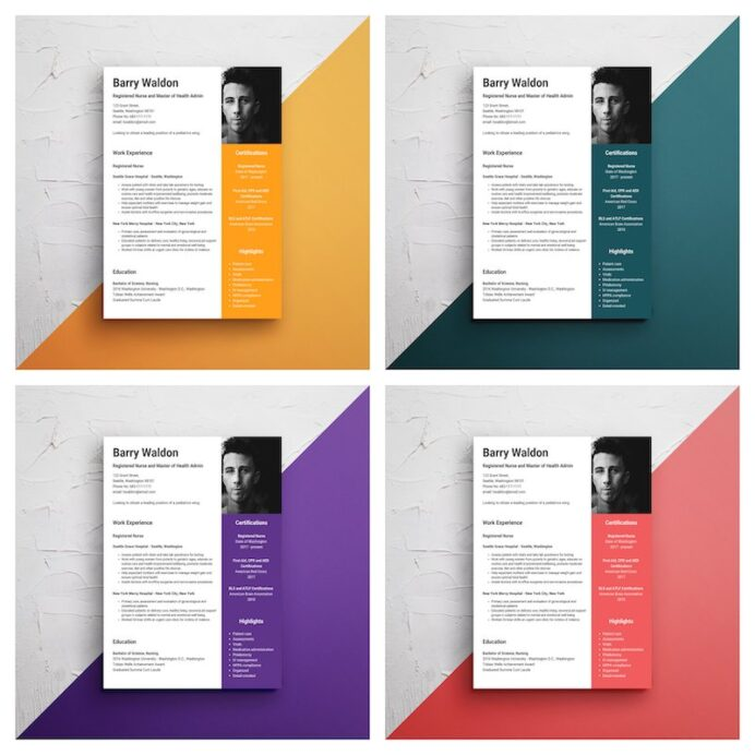 infographic resume template venngage pretty templates creative nursing format for fresher Resume Pretty Resume Templates
