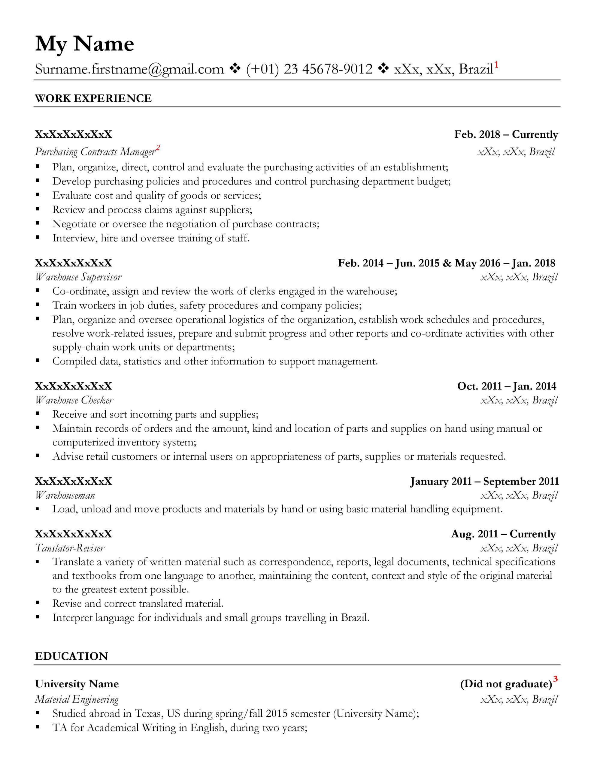 is my résumé good enough for resumes style resume format z09ux0lse4u11 teresa should Resume Canadian Style Resume Format