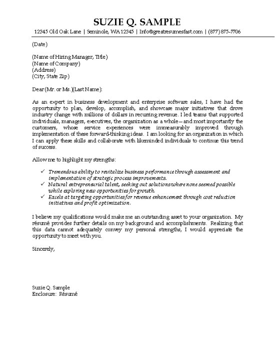 it cover letter example technology professional great resume letters salescoverletter12 Resume Great Resume Cover Letters