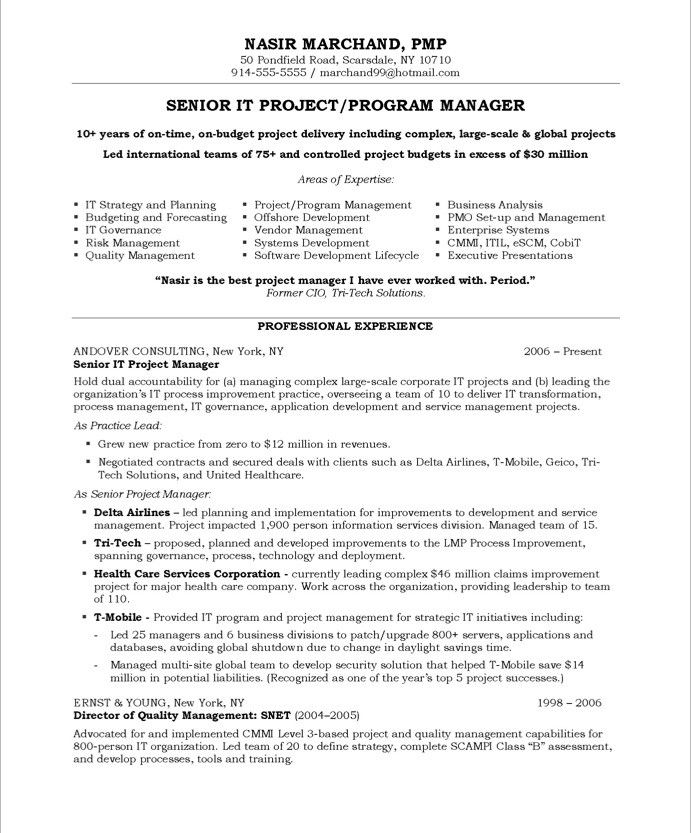 it project manager page1 resume examples best template for district juvenile correctional Resume Best Resume Template For Project Manager