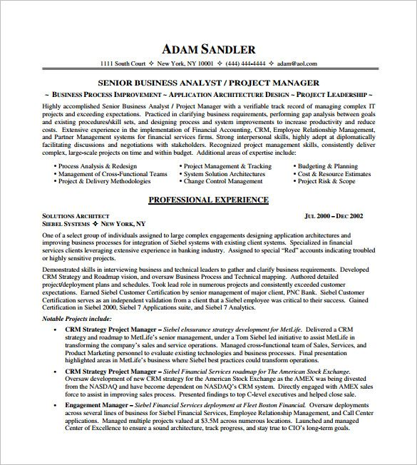 it project manager resume free templates senior sample making is easy but pdf some Resume Senior Project Manager Resume