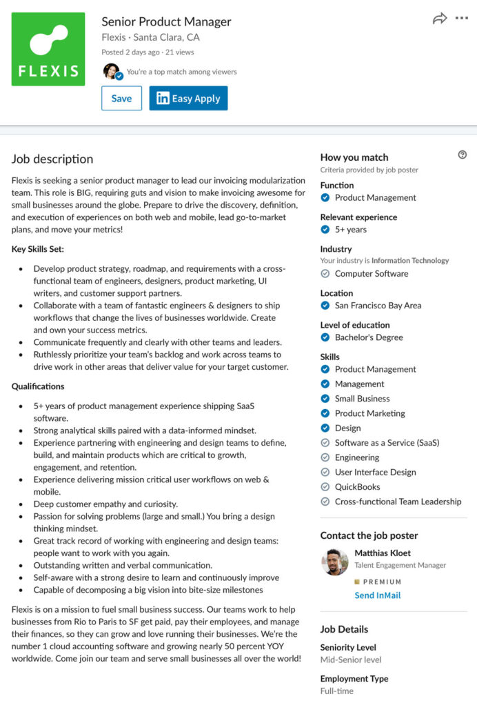 job seekers and companies on linkedin can now instantly see if an applicant is match for Resume Post Resume On Linkedin