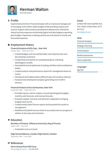 job winning resume templates free io professional looking template sous chef samples wpi Resume Professional Looking Resume Template