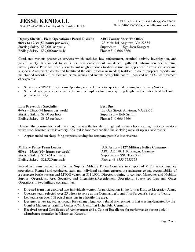 jobs resume format example free federal government templates paratransit job description Resume Free Federal Government Resume Templates