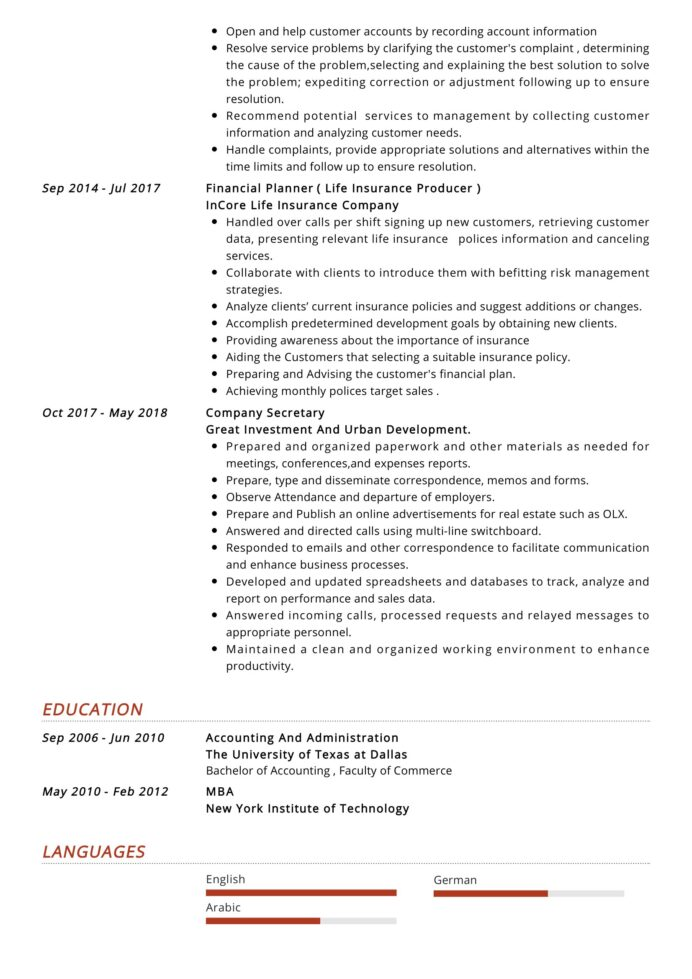 junior accountant resume sample resumekraft latest format for personal trainer accounting Resume Latest Resume Format For Accountant