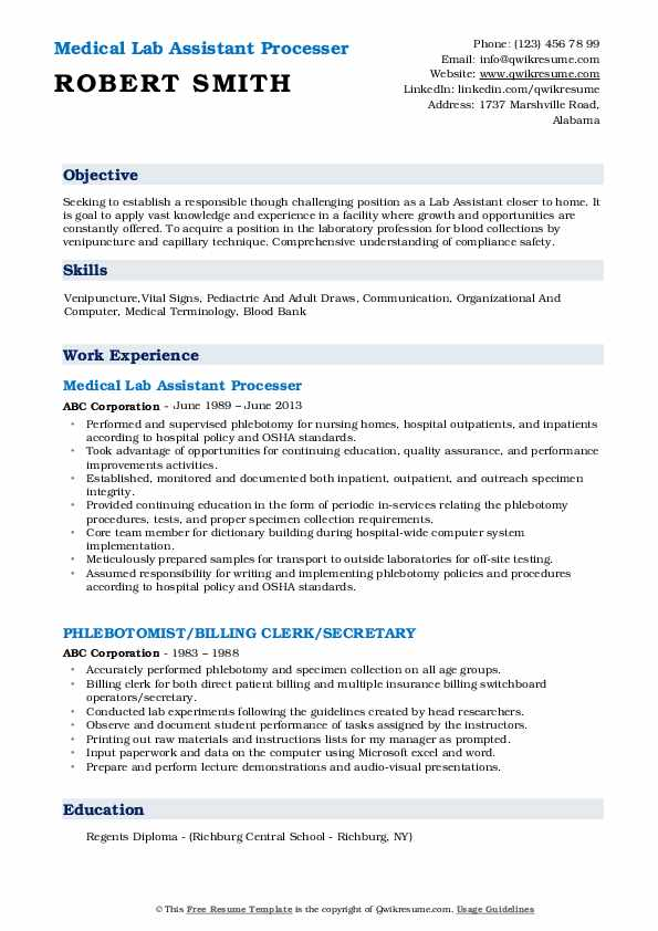 lab assistant resume samples qwikresume entry level pdf field adjuster free and printable Resume Entry Level Lab Assistant Resume
