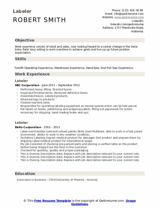 labeler resume samples qwikresume filling out pdf tucson another word for babysitting on Resume Filling Out A Resume