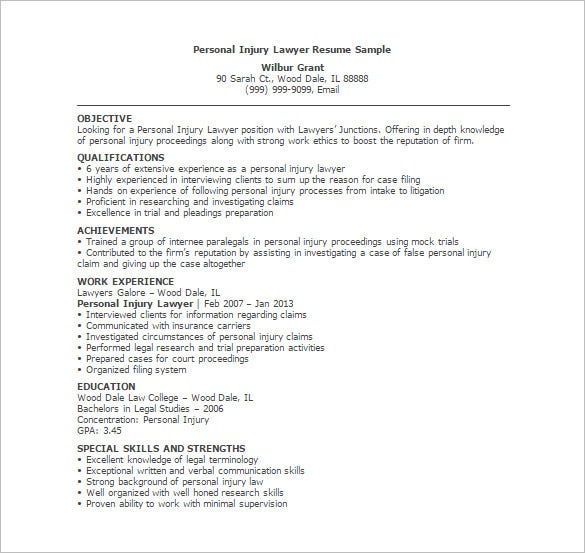 lawyer resume templates excel pdf free premium personal injury attorney template ender Resume Personal Injury Attorney Resume