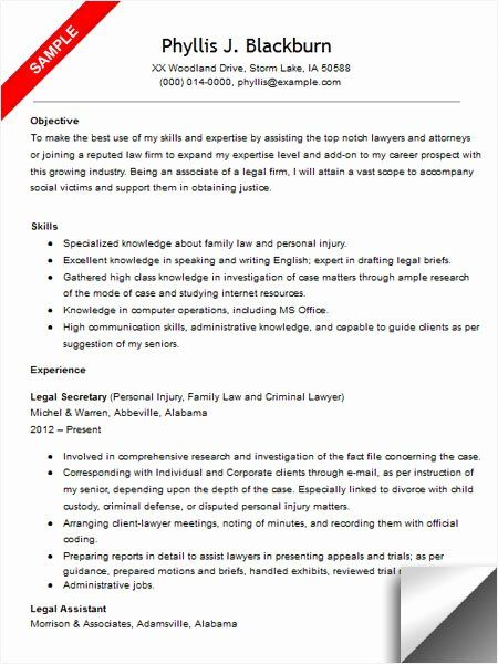 legal assistant resume example beautiful quotes quotesgram good examples objective Resume Legal Secretary Resume Samples