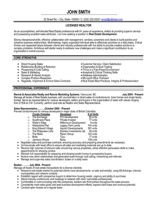 licensed realtor resume sample template for clients professional roustabout excel skills Resume Realtor Resume For Clients