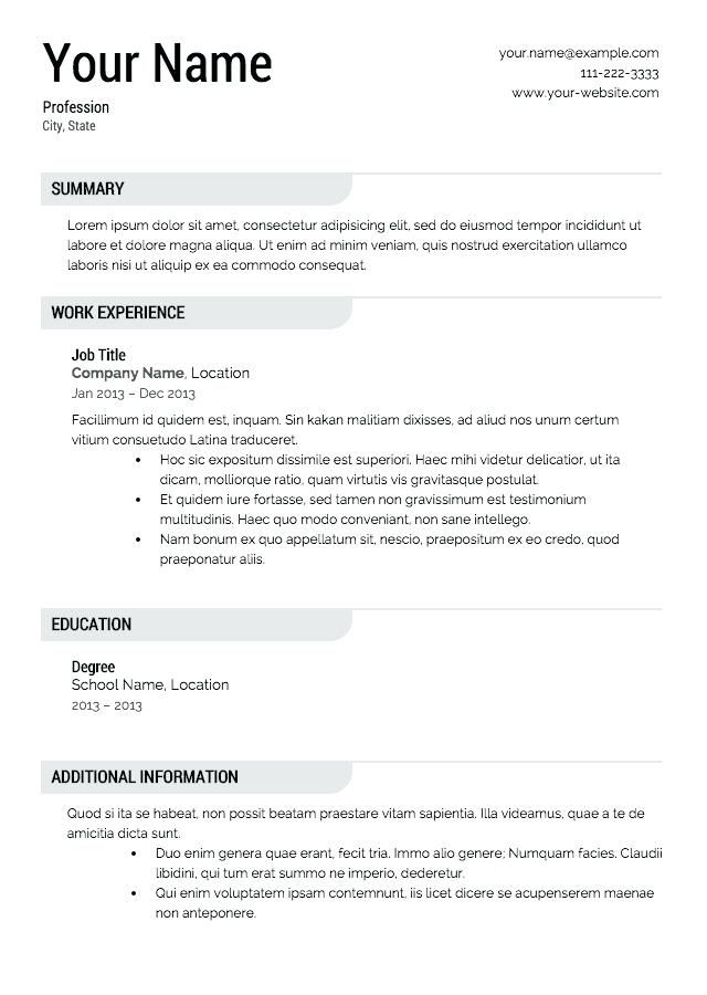 linkedin resume template builder unique free print downloadable samples templates Resume Resume Builder Free Resume Templates