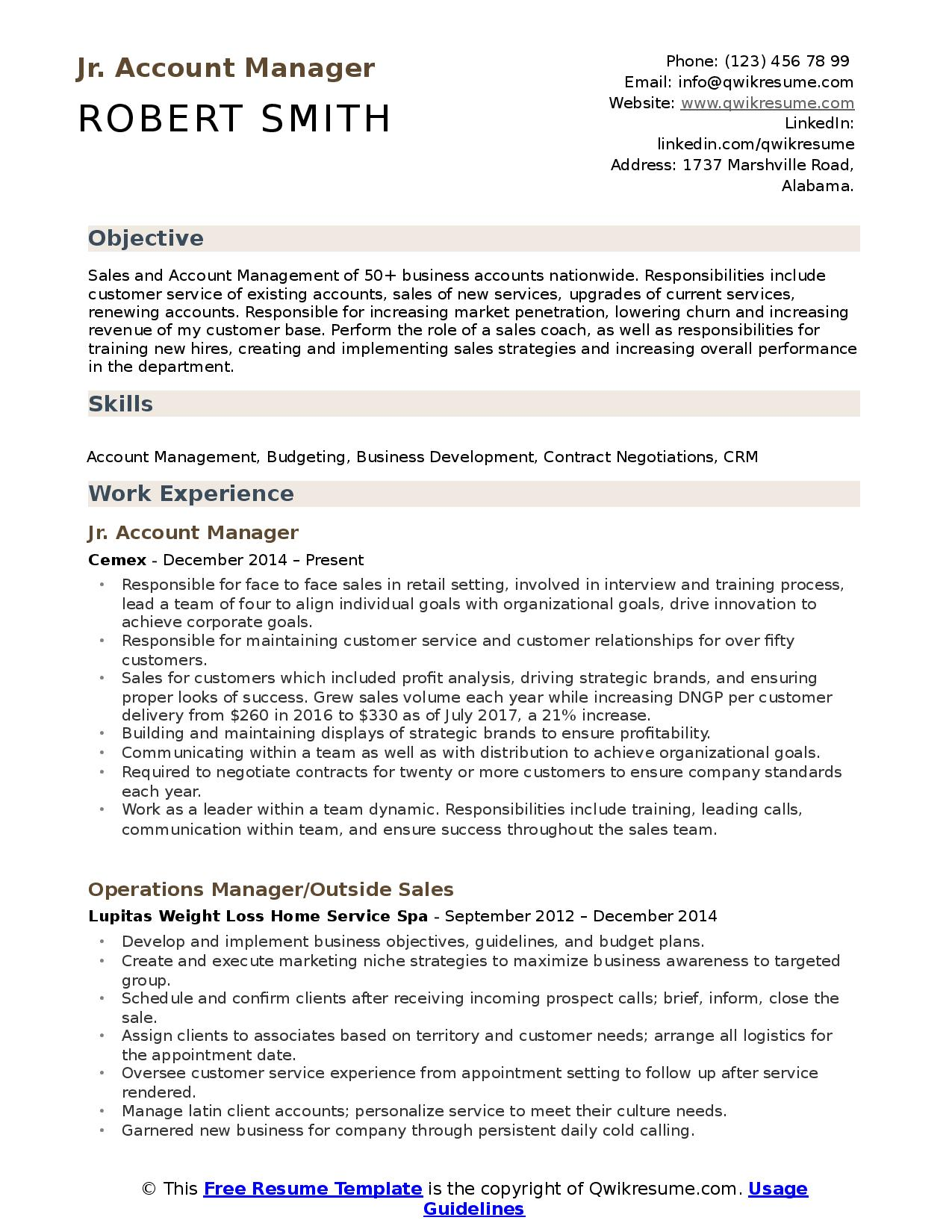 looking for great account manager resume here you are corporate junior child psychologist Resume Corporate Account Manager Resume