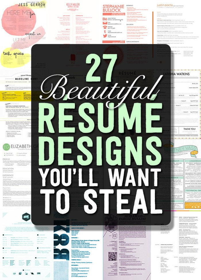 magnificent cv designs that outshine all the others seenox eye catching resume templates Resume Eye Catching Resume Templates Free