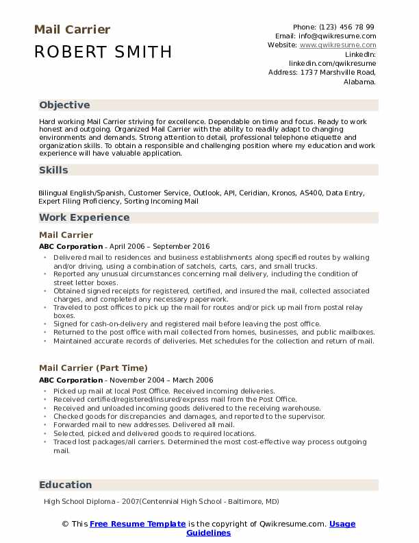 mail carrier resume samples qwikresume for post office job pdf entry level electronic Resume Resume For Post Office Job