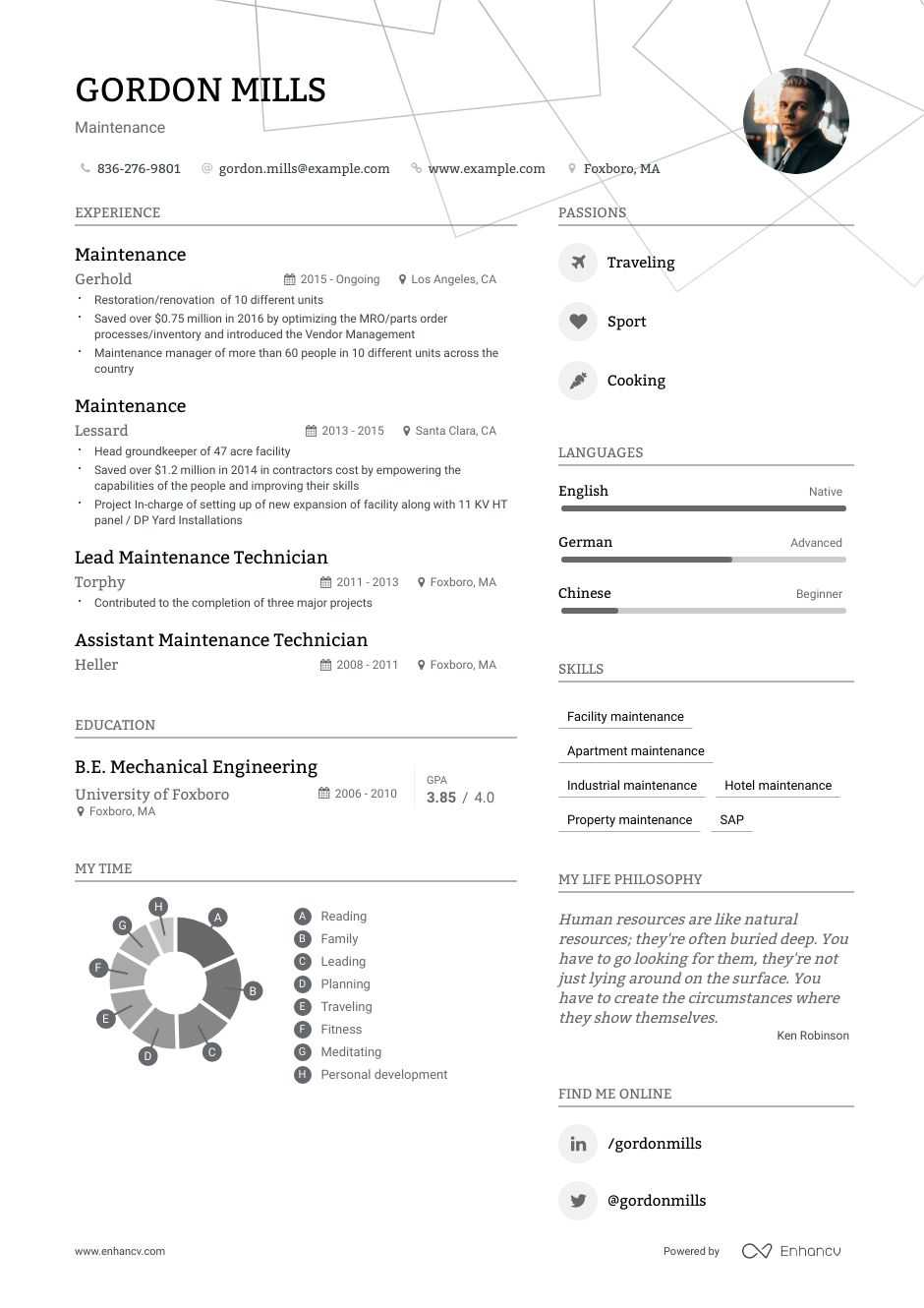 maintenance resume examples do and don ts for enhancv jobs technical consultant summary Resume Resume Examples For Maintenance Jobs