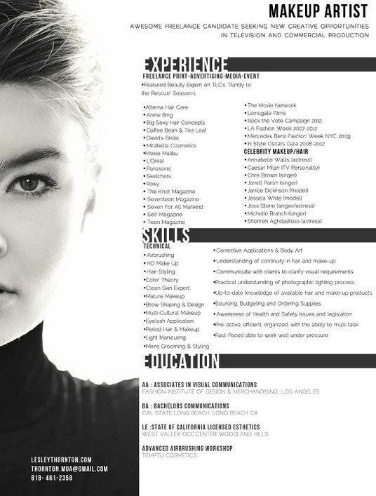 makeup artist resume website infographic arti commercial dietitian monster free review Resume Commercial Artist Resume