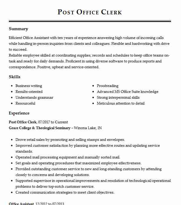 manager post office operations resume example postal service kingsley for job human Resume Resume For Post Office Job